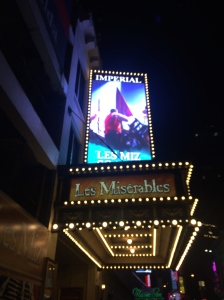 Watching my all time favourite musical Les Mis on Broadway, my mascara was pretty much non-existent after.
