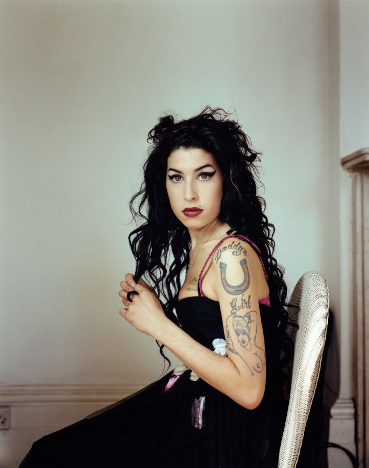 Amy Winehouse in publicity photo for Back to Black in 2006. Photo credit: stereo gum.